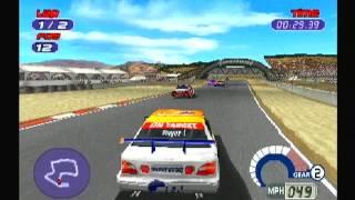 Jarrett & Labonte Stock Car Racing gameplay thumbnail