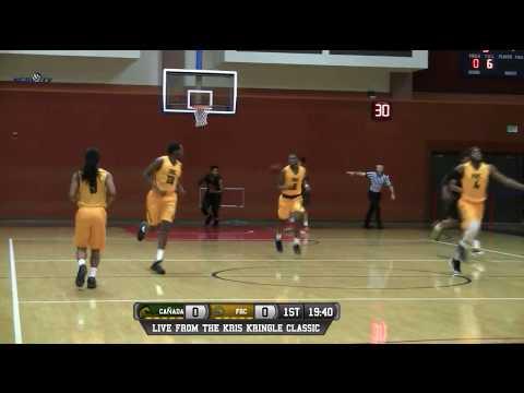 Cañada vs Feather River College Men's Basketball LIVE 12/15/17