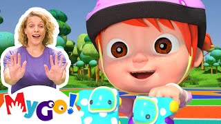 No No Play Safe Song   MyGo! Sign Language For Kids   CoComelon Nursery Rhymes   ASL