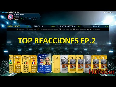 TOP Reacciones Pack Opening EP.2 | Ultimate Team FIFA 14 | DjMaRiiO
