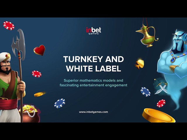 Turnkey and Whitelabel From Inbet Games!