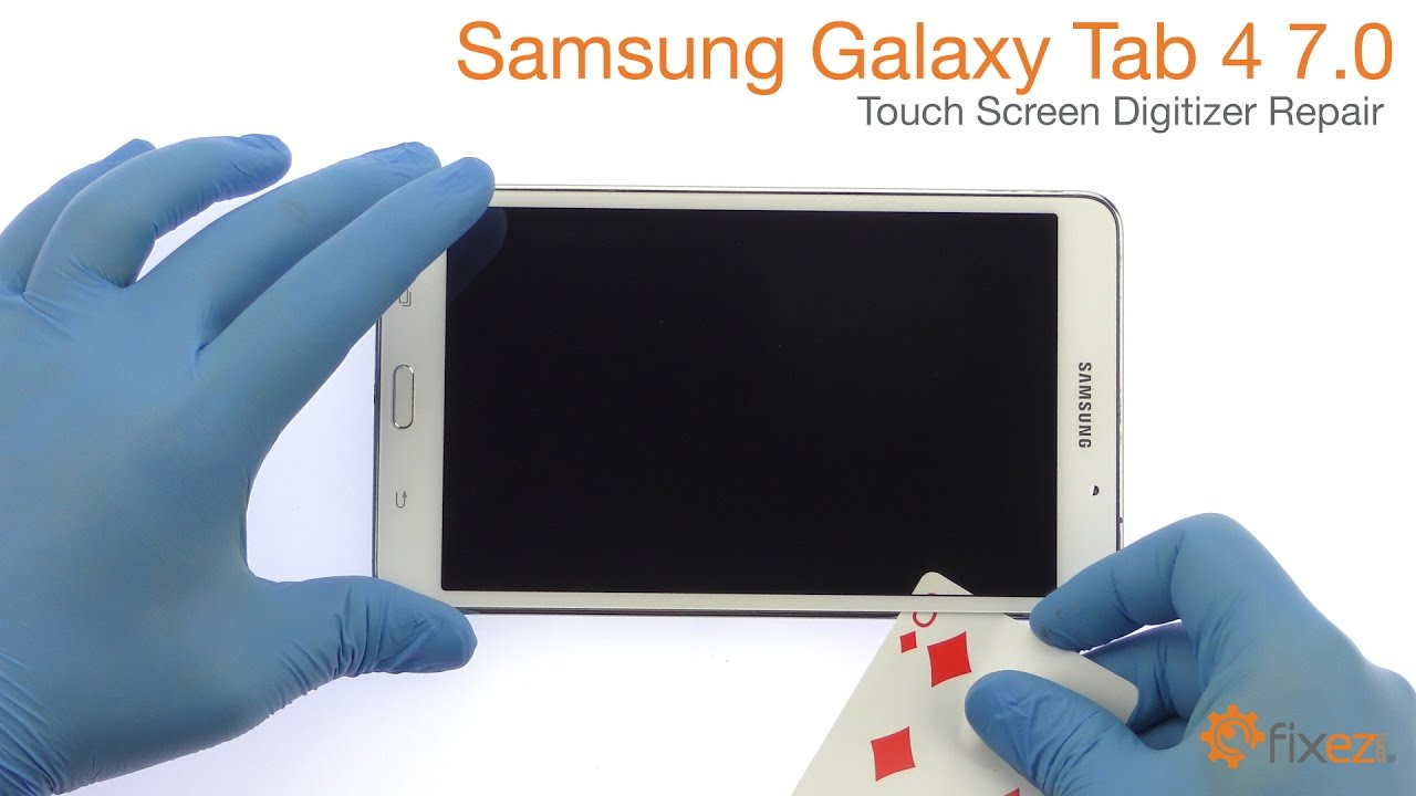 Samsung Galaxy Tab 4 7 0 Touch Screen Digitizer Repair - Fixez com
