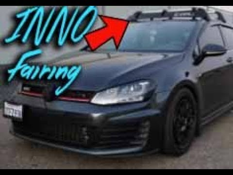 Inno Roof Rack >> AMAZON INNO Fairing For ROOF RACK MK7 GTI - YouTube