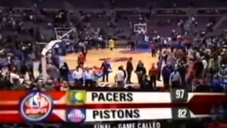 Malice at the Palace - Pistons vs Pacers - November 19, 2004