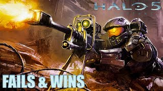 HALO 5 FAILS & WINS #10 (Best Halo 5 Guardians Funny Moments Compilation)