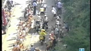 Jan Ullrich attack. Lance Armstrong KO. (Tour de France 2003)