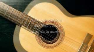 Esa triste guitarra-Emmanuel(Con letra)