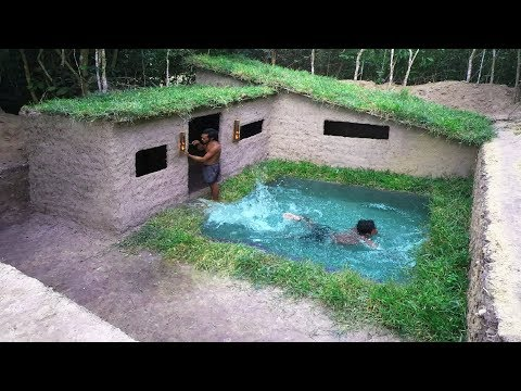 Minecraft Real Life ! How To Make Villa House With Beautiful Swimming Pool