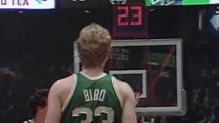 Larry Bird - Rare Highlights vs. Sixers (1982)