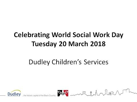 Celebrating World Social Work Day, Tuesday 20 March 2018