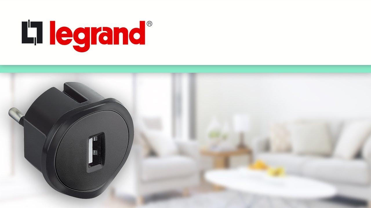 prise chargeur usb legrand comment recharger mes appareils dans toutes les prises youtube. Black Bedroom Furniture Sets. Home Design Ideas