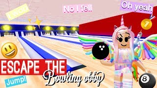 Escape the bowling obby🎱 (roblox video)