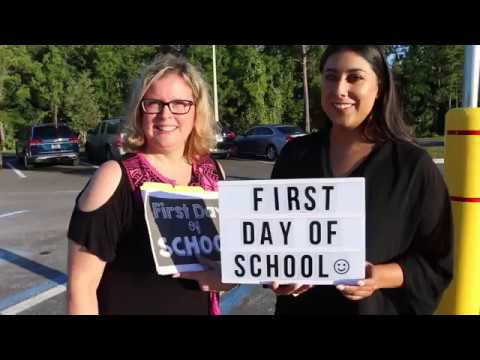 North Tampa 1st Day of School 2018