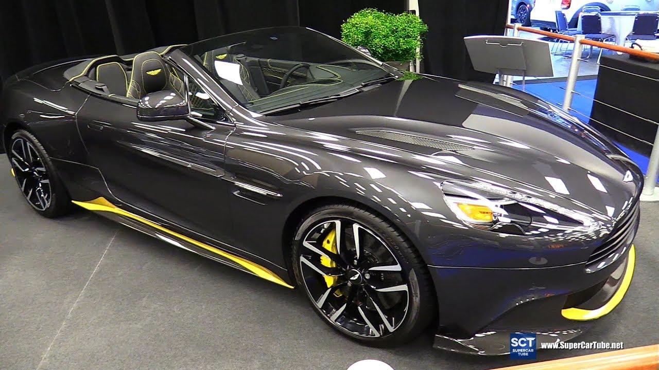 2018 Aston Martin Vanquish S Volante Exterior Interior Walkaround Montreal Auto Show