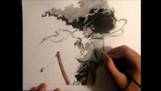Drawing Afro Samurai