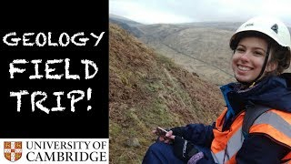 GEOLOGY FIELD TRIP WITH CAMBRIDGE UNI ISLE OF ARRAN