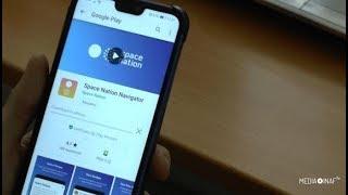 Space Nation Navigator, una app per diventare astronauti