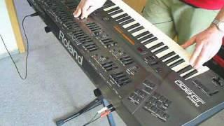 Roland JD 800 Digital Synthesizer 1991
