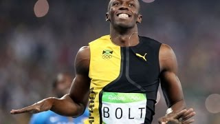 Usain Bolt- All 6 gold medals at a glance- Olympic special