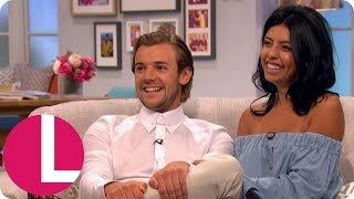 love island s nathan and cara reveal future plans in first tv interview   lorraine