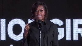 MICHELLE OBAMA at the Global Citizen Festival 2015