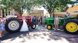 Red Tractor Girl Marries Green Tractor Guy