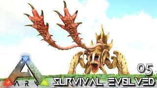 ARK: SURVIVAL EVOLVED - EPIC MONSTER TREADER & NOXIOUS ANKYLO E05 !!! ( PRIMAL FEAR PYRIA )