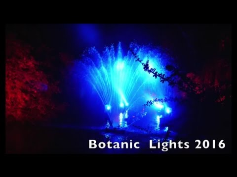 Botanic Lights 2016, Royal Botanic Garden Edinburgh