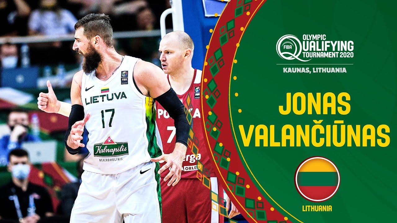 Jonas Valančiūnas Dominates the Paint | TCL Player of the Game