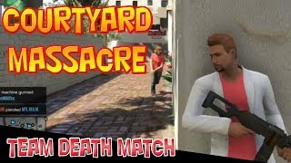 Hotel Showdown! Massacre in the courtyard!