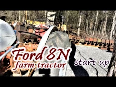 hey Wranglerstar I got an old Ford Tractor 8N