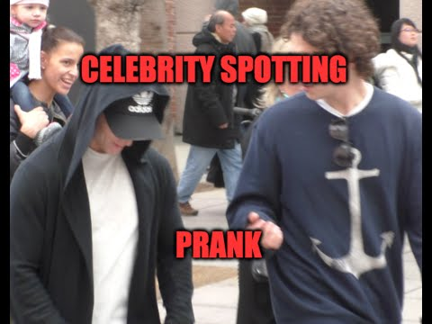 Celebrity Spotting in Los Angeles Prank