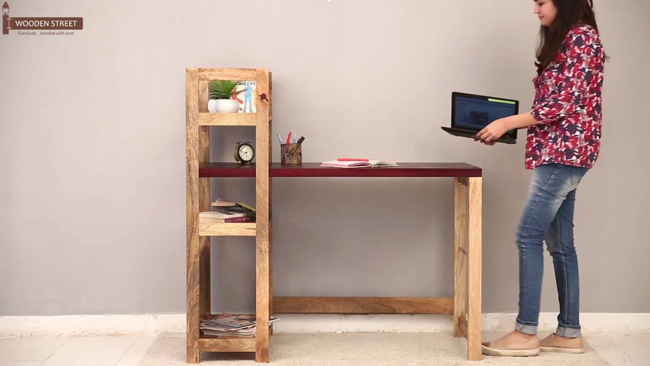 study desk cum bookshelf – shop michelle study desk cum bookshelf in