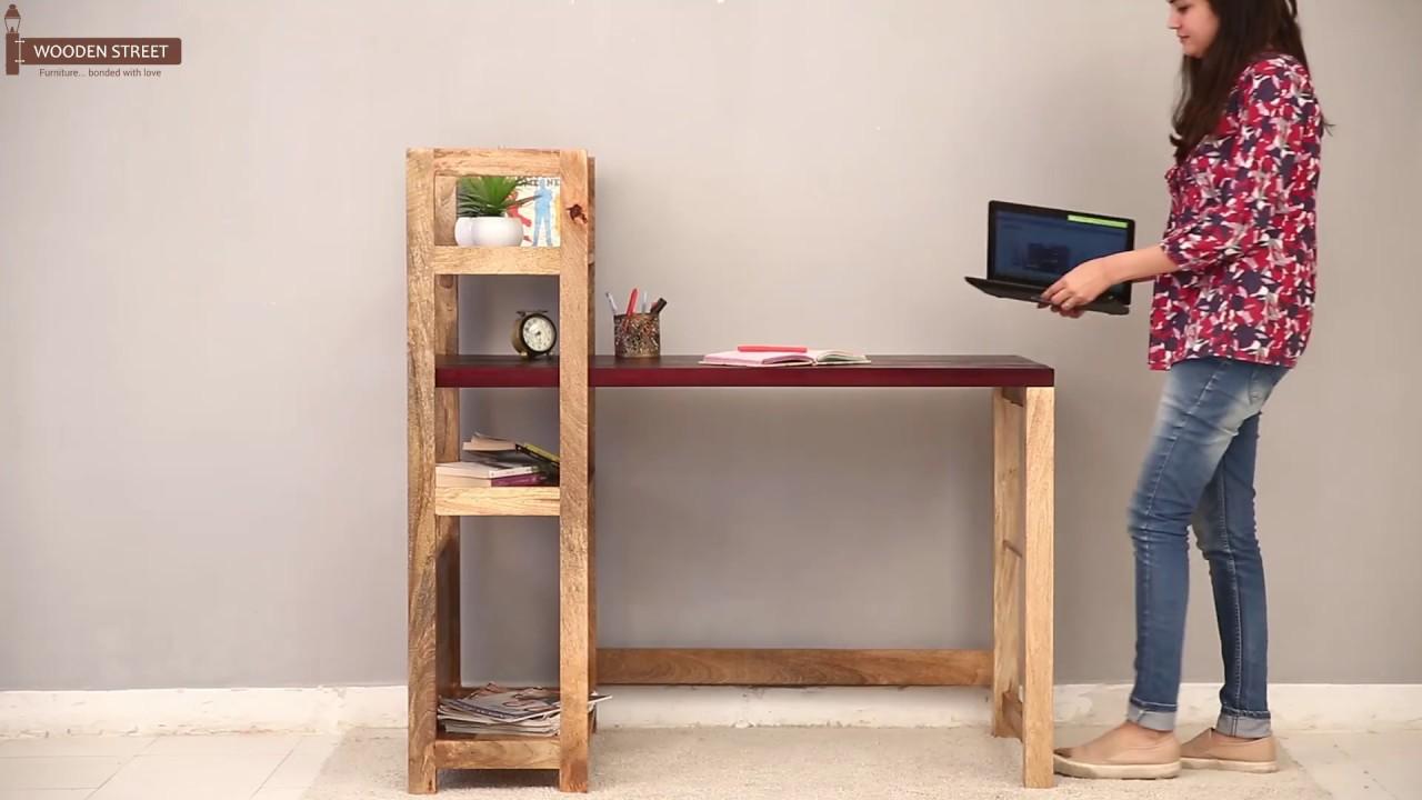 study desk cum bookshelf – shop michelle study desk cum bookshelf in