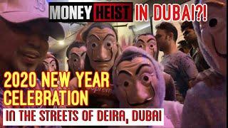 Vlog 024: NEW YEAR STREET CELEBRATION IN AL RIGGA DUBAI 2020
