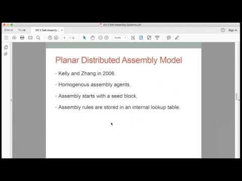 ER#3: Self-Assembly Modular Robotic Systems