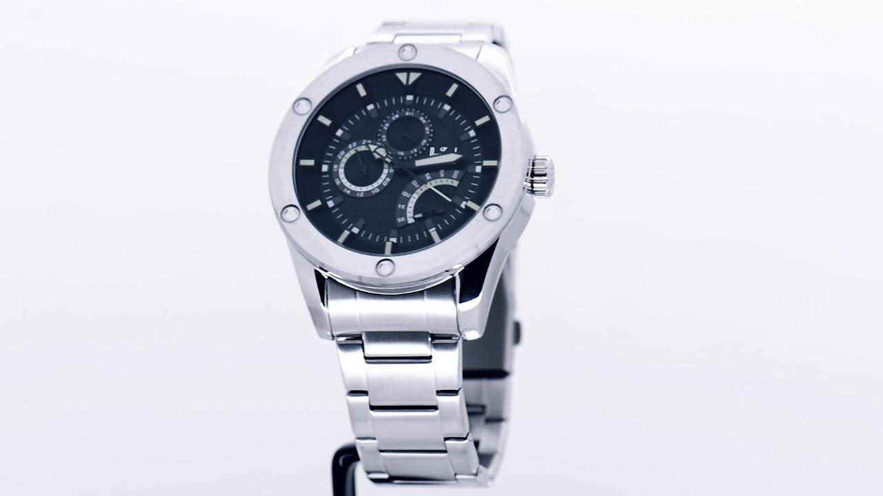 ce8511886f0 Relógio Dumont Masculino Garbo DUJR00AK 3P - Eclock - YouTube