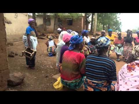 First meeting with  Women Coop members of the Ajike Shea Centre, Northern Ghana, West Africa.