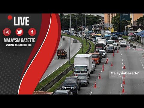 MGTV LIVE : Kesesakan Teruk Di Jalan Kuching Berhampiran Pasar Posor Selayang #PKPB