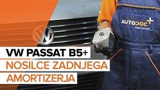 Kako zamenjati Drzalo, vlezajenje stabilizatorja VW PASSAT Variant (3B5) - spletni brezplačni video