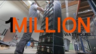 1 million watt hour 355V SOLAR STORAGE battery