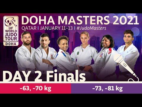 Day 2 - Finals: Doha World Judo Masters 2021