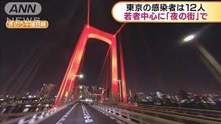 東京の感染者は12人 若者中心に「夜の街」で(20/06/04)