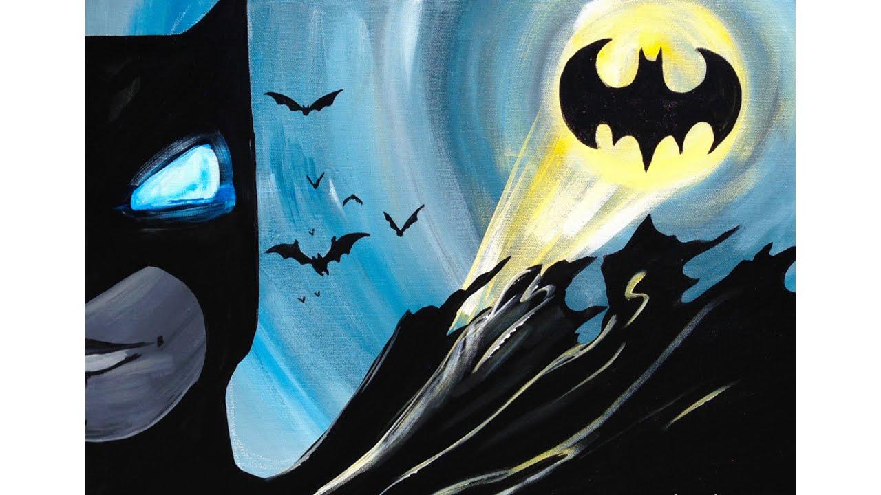 Batman Acrylic Painting