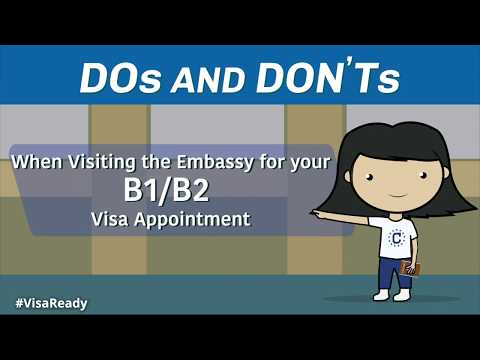 b1/b2-visa-appointment-dos-and-don'ts