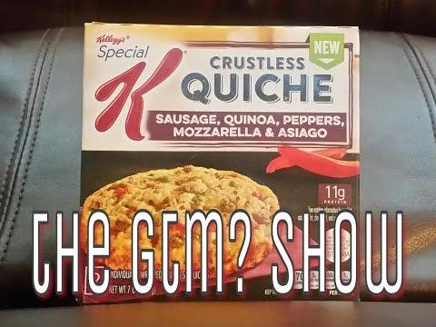 Special k crustless quiche