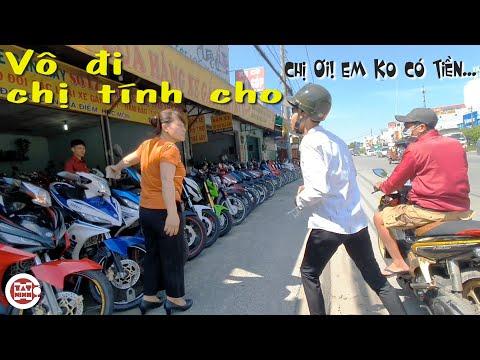 Đi xem moto xe máy cũ giá rẻ khu An Sương TPHCM gặp Chị Đại bảo kê ko cần tiền Cho góp 63 tỉnh thành