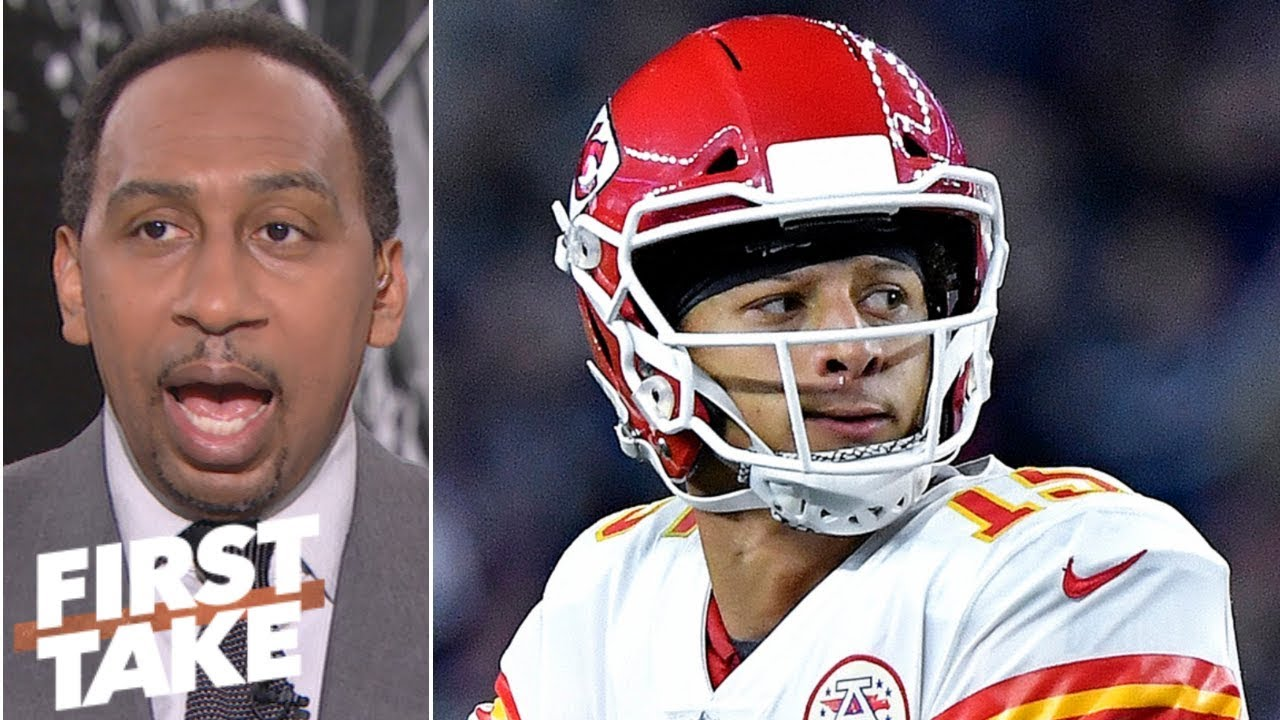 Chiefs, not Patriots, will represent AFC in Super Bowl - Stephen A  | First  Take