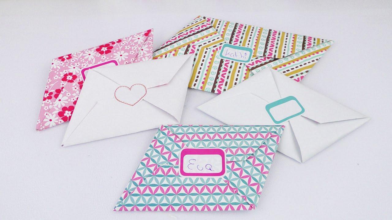 Brief Falten Ohne Kuvert : Briefe super einfach falten ohne umschlag