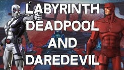 Labyrinth Of Legends: Deadpool and Daredevil - Marvel Contest Of Champions